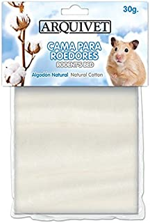 Arquivet Algodón blanco para hamsters - 30 g