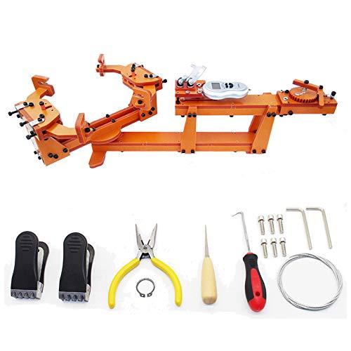 Tipo de cabrestante Personal DIY máquina de encordar la raqueta de bádminton Tirando de la máquina de enhebrado de alambre camilla Más de 60LB