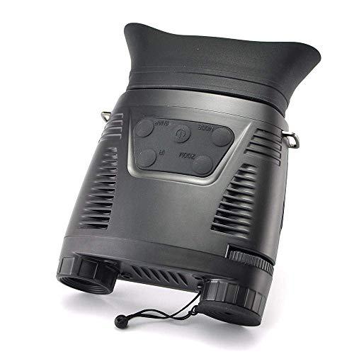 LNHJZ 640X480 Binocular Multifuncional HD Visión Nocturna Alcance 200m Vedio/Fotografía Caza Pantalla Grande Cámaras termográficas Digitales Vista para Cazador
