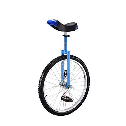 DC les Monociclos Carretilla, Monociclo Deportivo para Adultos de 24 Pulgadas para niños, Acrobacias, Bicicleta de Equilibrio para una Sola Aptitud (2 Opciones de Color) (Color : B)