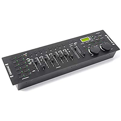 beamz DMX-240 DJ Disco Party Lighting Controller 192-Channel DMX Light Console