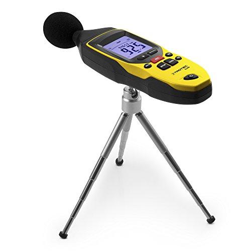 TROTEC 3510005020 SL400 Schallpegel Messgerät mit Datenlogger-Funktion (bis zu 32.700 Messwerte) mit USB-Anschluss und 3,5 mm Klinkenbuchse / Inkl. Kalibrierzertifikat, Mini-Stativ und Transportkoffer - 7