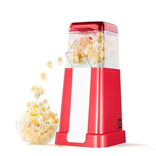 Buy Discount CHENJIU Air Popcorn Maker Machine,Low-Calorie Fat-Free,1200W Retro Popcorn Maker Health...