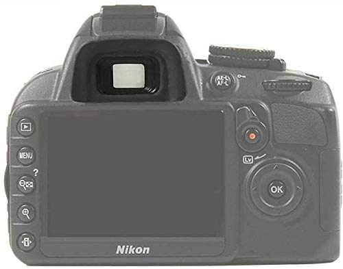 KOMET Ocular de goma para Nikon D5600, D5200, D5100, D5000, D3100, D70, D70S, D60, D50, D40, D750, Repuestos de cámara réflex digital Nikon DK-20
