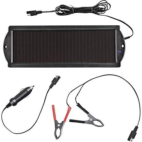 ProPlus Cargador Solar 550059, módulo Solar, Panel Solar, Cargador de batería de 12V
