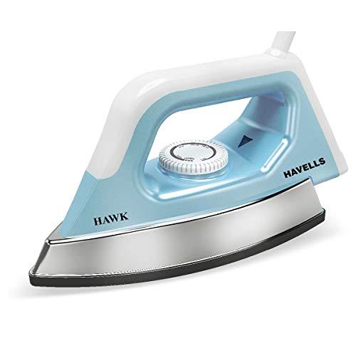 Havells Hawk 1100 Watt Dry Iron (Blue and White)