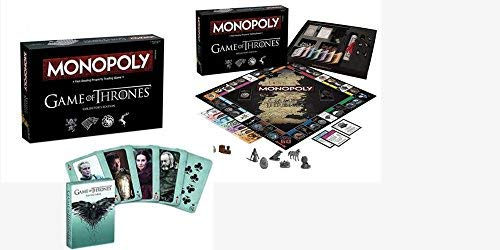 Monopoly Game of Thrones, Fast Dealing Property Trading Board Game