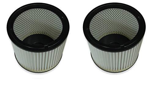 2 waschbare Filter für Einhell TE-VC 1820 und TE-VC 1925 SA Filterelement PES Kallefornia K702A