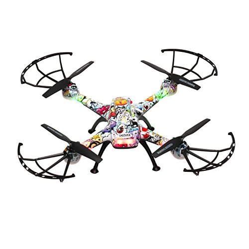 Denver DCH460 - Dron con cámara de 0.3 MP, Multicolor