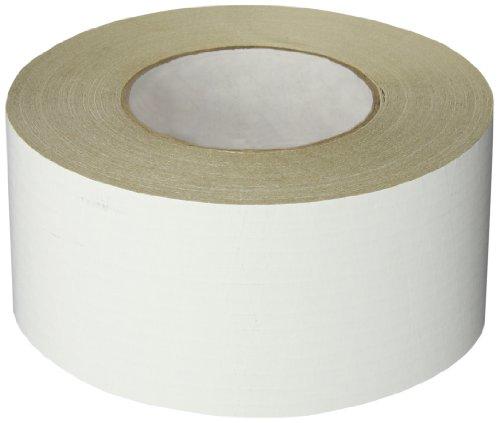 Nashua - 1087654 ASJ Paper/Tri-Directional Fiberglass/Foil All-Service Insulation Jacketing Tape, 50 yds Length x 72mm Width, White