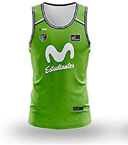 Movistar Estudiantes 3ª equipación Juego 20-21 Camiseta, Unisex Adulto, Verde, 2XL