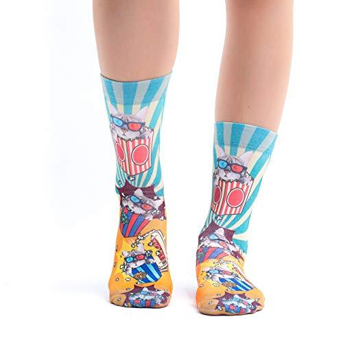 Wigglesteps Damen Socken Popcorn Gr.36-40