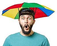 Sehr schöner und stabiler Sonnenschirm-Hut / Regenschirm-Hut, welcher besonders beliebt ist bei Anglern, Urlaubern, Festivals und natürlich auch zum Karneval / Fasching bei Männern und Frauen. Der Schirm bzw. Schirmhut garantiert Schutz vor Regen und...