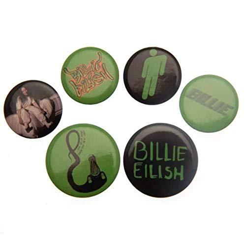 Billie Eilish Anstecker-Paket Mix