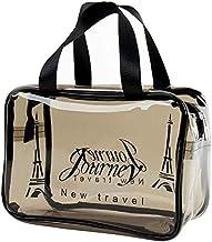 Archile duidelijke toilettas, dikke transprent cosmetische tas, waterdichte make-upkunstenaar tas organizer opslag eenvoud...