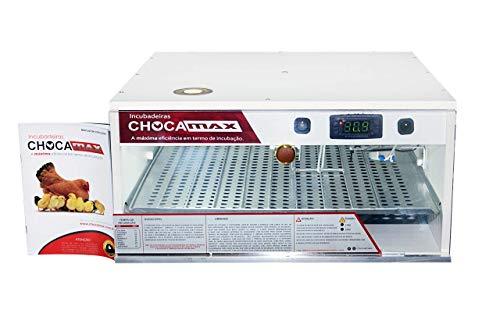 Chocadeira 110 Ovos Com Ovoscópio Automática Digital