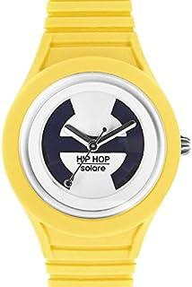 Hip Hop Watches - Orologio da Donna Aspen Gold HWU0534 - Collezione Solare - Cinturino in Silicone - Impermeabile 5 ATM - ...