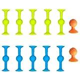 2021 POP Sucker Toys, marcador objetivo de silicona y Darts Funny Toy Set, juegos competitivos al aire libre