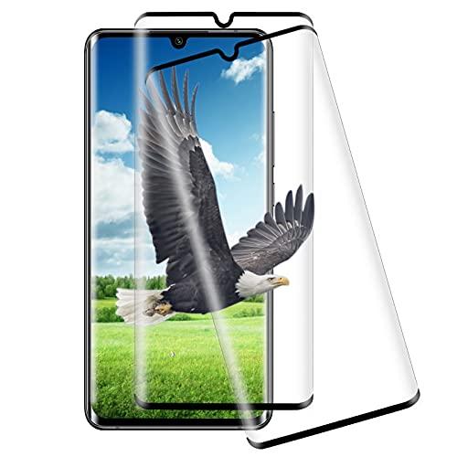 [2 Stück] Panzerglas für Xiaomi MI Note10/Note 10 Pro/Note 10 Lite/CC9 Pro, 9H Festigkeit Schutzfolie, Anti-Bläschen, Bildschirmschutzfolie für Xiaomi MI Note10/Note 10 Pro/Note 10 Lite/CC9 Pro - Schwarz