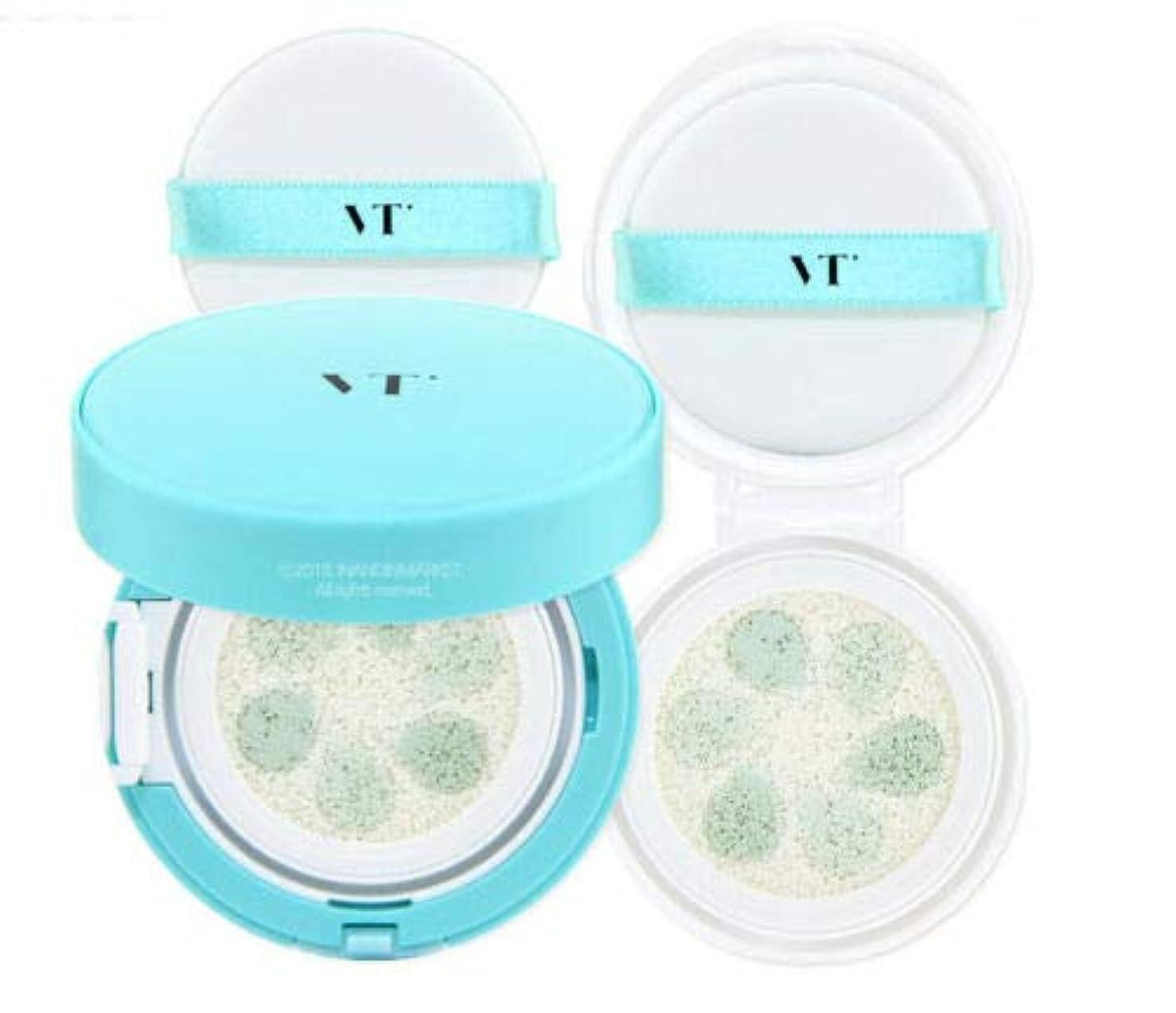 むしろ見る人略奪VT Cosmetic Phyto Sun Cushion サンクッション 本品11g + リフィール11g, SPF50+/PA++++