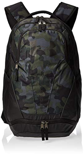 Under Armour UA Hustle 3.0 Mochila, Unisex Adulto, Marrón (Desert Sand Black 290), Talla única