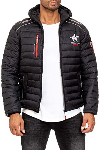 Geographical Norway Chaqueta acolchada para hombre. Negro XXL