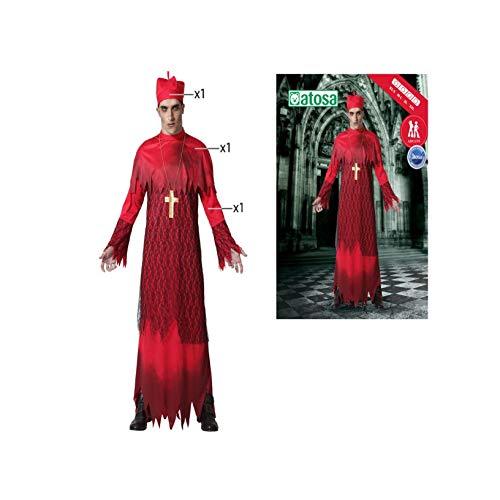 ATOSA disfraz cardenal adulto M