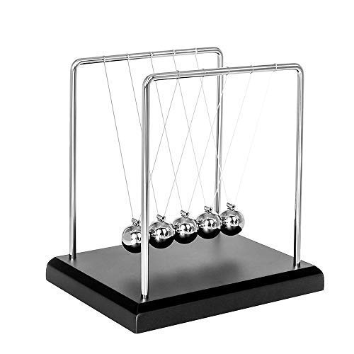 Toys for Desk, Newtons Cradle Magnetic Balls for Adults Stress Relief, Cool Fun Office Games Desktop Accessories,Calm Down Fidgets Kit Avoid Anxiety, Small Sensory Kids Toy, Gifts for Boys With Autism