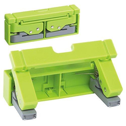 リヒトラブ コンパクトパンチ 黄緑 P-1040-6 00435514【まとめ買い3個セット】