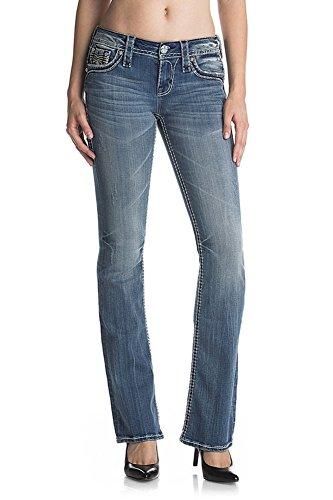 Rock Revival - Damen Uriel B203 Boot Jeans, 32, Denim