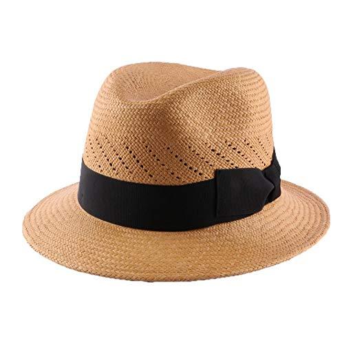 Léon montane Chapeau Panama Royal Troon Tabac - Mixte