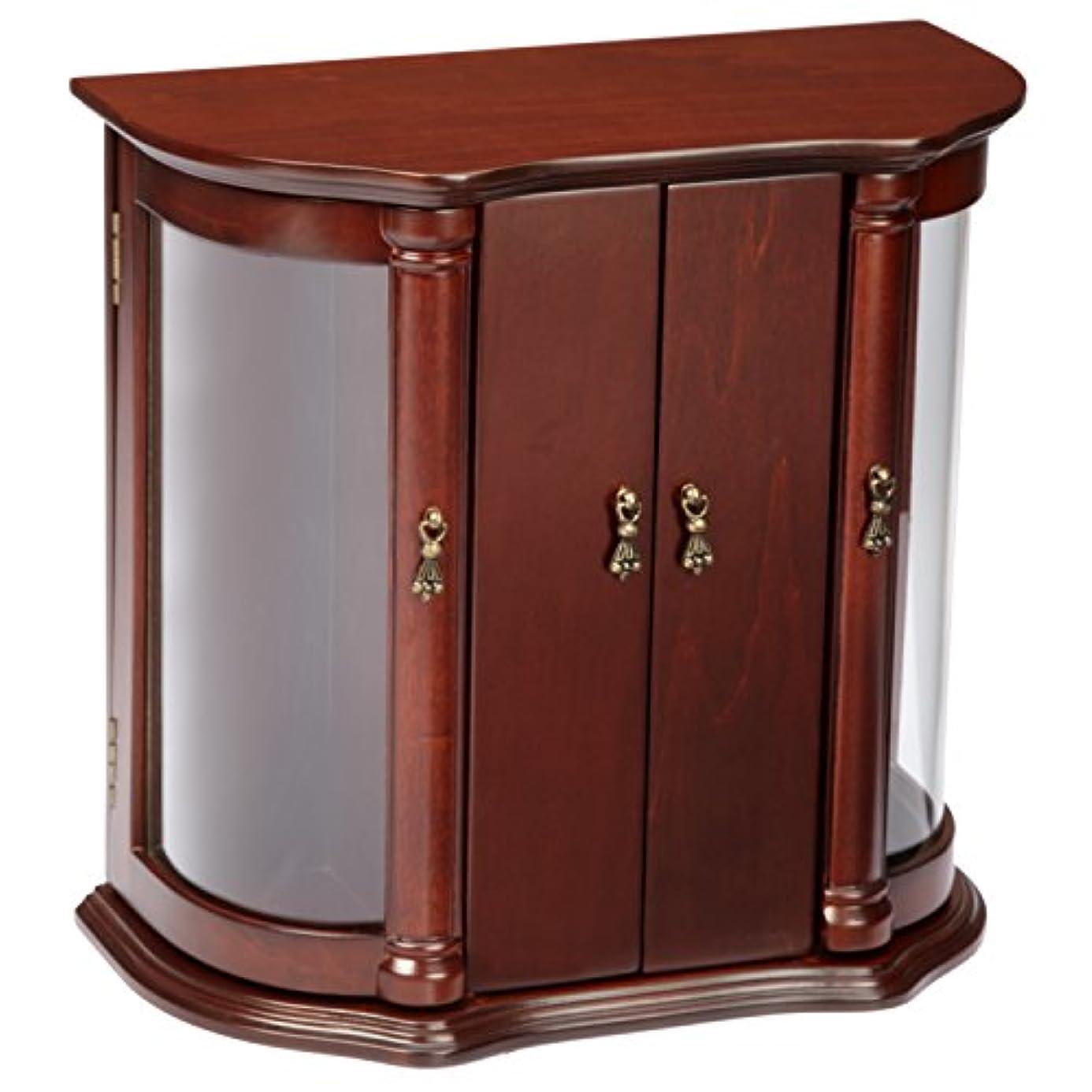 Josephine Jewelry Box in Antique Mahogany Finish by Bombay Company oxi5093728