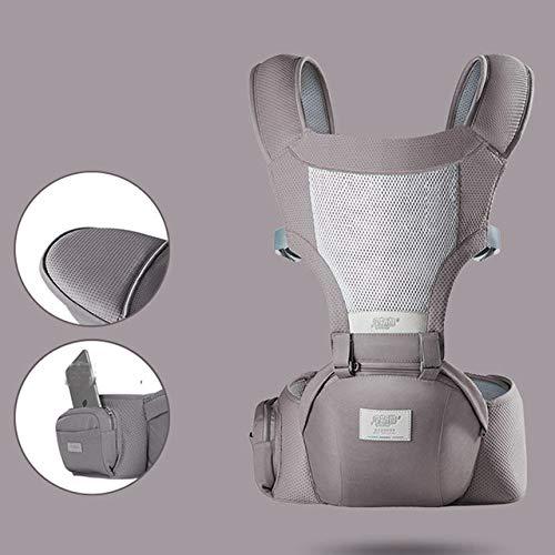Bosi General Merchandise Portabebés ergonómico y Transpirable, portabebés portátil, portabebés, Canguro, Asiento para bebés, Tapa del portabebés