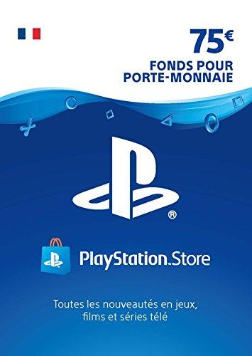 Carte PSN 75 EUR | Compte français | Code PSN à télécharger