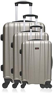 Hero Gomera Luggage Set, 75 cm, 188 liters, Beige (Champ)