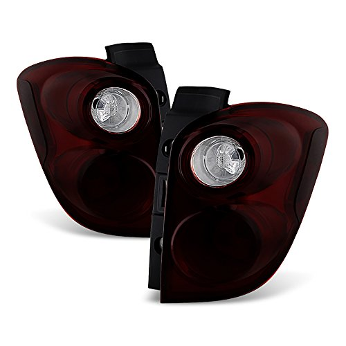 VIPMOTOZ Smoke Red Lens OE-Style Tail Light Lamp Assembly For 2010-2015 Chevy Equinox, Driver & Passenger Side