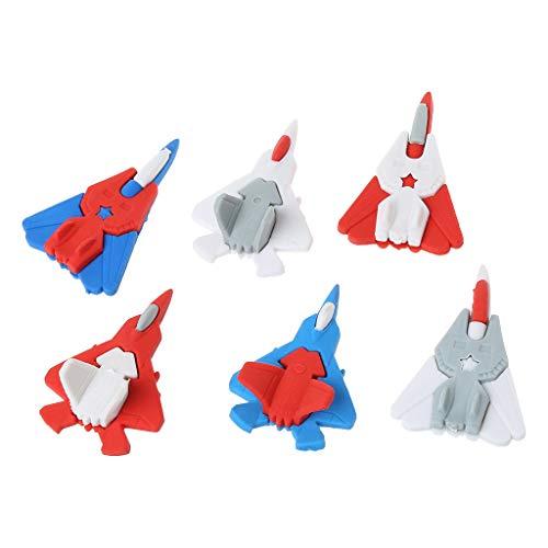 NKYSM gummen vliegtuig fighter model gum, Erasers voor schoolam, schrijfwaren, cadeau