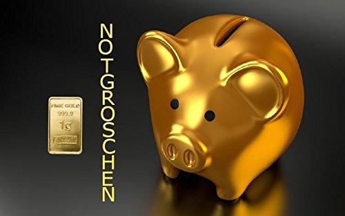 1,0 Gramm Goldbarren Motiv-Karte