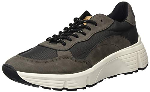 Vagabond Herren Quincy Sneaker, Grau (Dark Grey 18), 43 EU