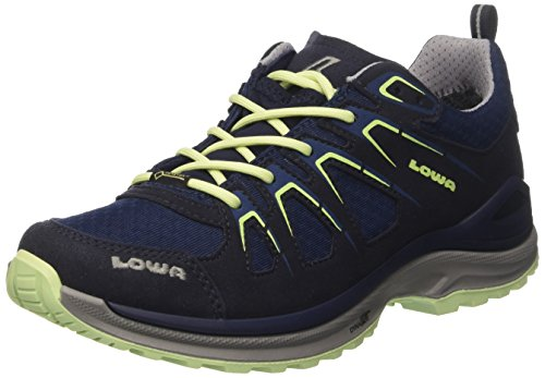 Lowa Damen Innox Evo Gtx Lo Ws Sneakers, Mehrfarbig (Navy/Mint), 42 EU