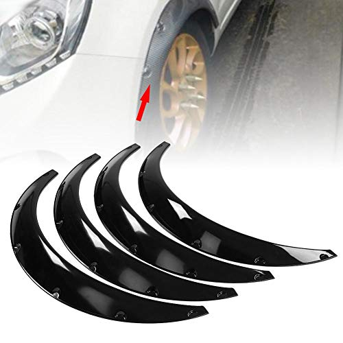 ouying1418 4 Piece Car Door Plastic Trim Clip Panel Dash Remover Pry Tool Kit ABS Orange
