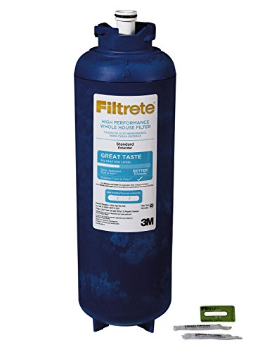 Filtrete Large Capacity Whole House Quick-Change Replacement Water Filter Cartridge 4WH-QCTO-F01, 1 Pack, for use with 4WH-QCTO-S01 System