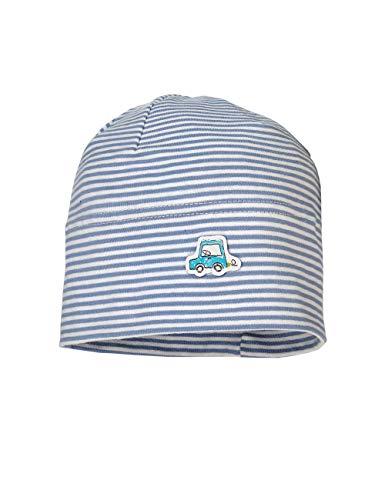 maximo Baby-Jungen Jerseymütze Mütze, Mehrfarbig (Denimblue 40), 45 (Herstellergröße: 45/47)