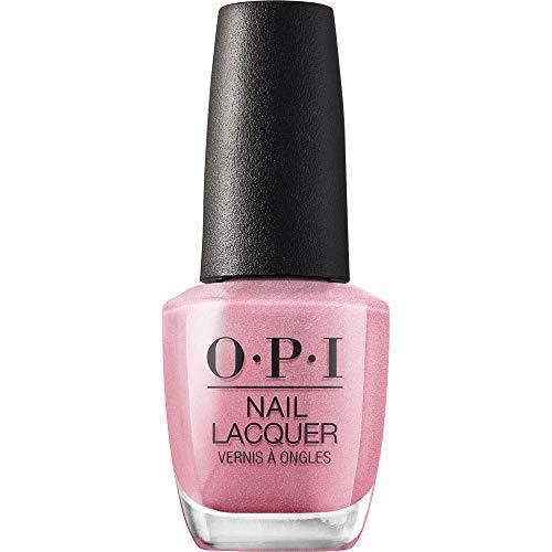 OPI Nail Lacquer, Aphrodite's Pink Nightie, Pink Nail Polish, 0.5 fl oz