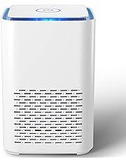 Purificador de Aire Portátil,con Filtro HEPA 13 Verdadero,Función de Aromaterapia,2 Modos,Luz Nocturna,Silenciosa para Dormitorio, Oficina,Eliminador de Olores de Alergias y mascotas,Humo,Polvo, Moho