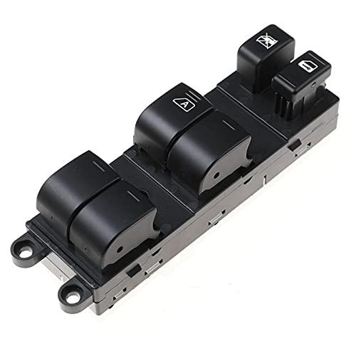 Interruptor de Elevador de Vidrio para elevalunas eléctrico Delantero Izquierdo, para Nissan Versa S SL Tiida C11X SC11X 25401-ED500 25401ED500
