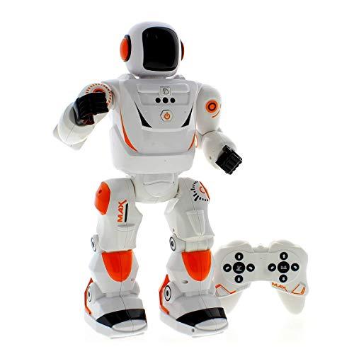 Xtrem Bots MAX BOT, Robot Juguete, Inteligencia Artificial, Robótica para niños, Robot teledirigido, Robot Educativo, Robot Inteligente, Radiocontrol, Juguetes para niños