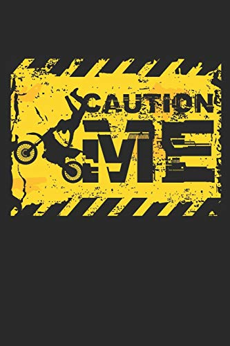 Caution Me: Dot matrix notebook for the journal or diary for women and men
