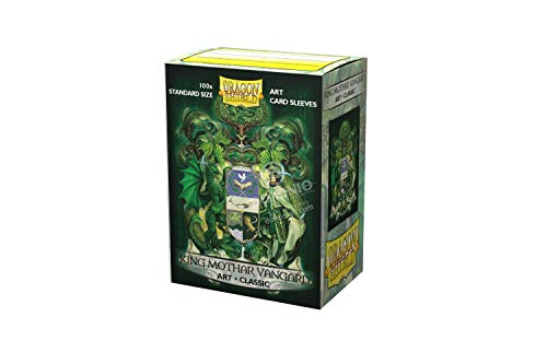 Dragon Shield Standard Size Classic Art Sleeves - 100 Count (King Mothar Coat of Arms)