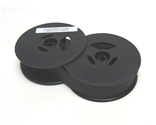 "All Black Single Pack 2"" Twin Spool ribbon to fit Brother Twin Spool Typewriters"